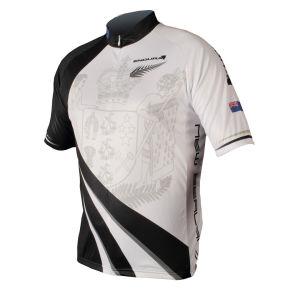 Endura Coolmax New Zealand Flag Cycling Jersey