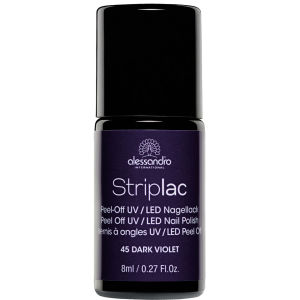 Striplac Dark Violet UV Nail Polish (8ml)