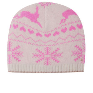 Ted Baker Women's Keria Fair Isle Knitted Hat - Nude Pink