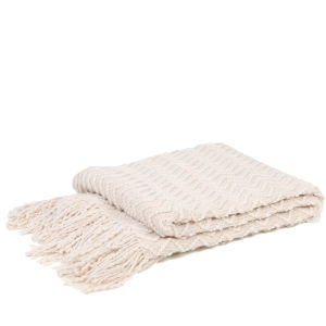 Malini Zig Zag Knitted Throw