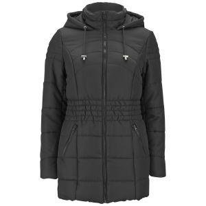 Vero Moda Women's Sona Long Padded Coat - Black