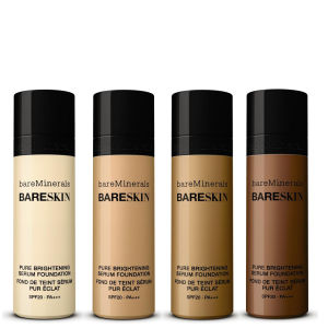 Base em Sérum bareMinerals bareSkin Pure Brightening FPS 20