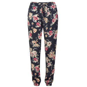 Girls On Film Women's Floral Trousers - Multi