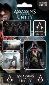 Assassin's Creed Unity Mix - Sticker Pack