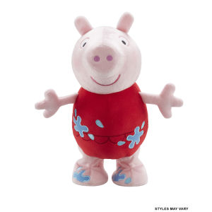 Peppa Pig Jumping Holiday Plush