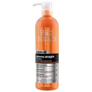 TIGI Bed Head Extreme Straight Shampoo Styleshots (750ml)