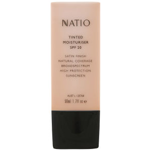 Creme Hidratante com Cor e FPS 20 - Neutral da Natio (50 ml)