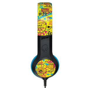SkullCandy Cassette Kopfhörer mit Mikrofon - Schwarz