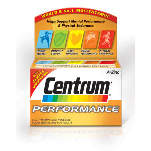Centrum Performance Multivitamin Tablets – (60 tabletter)