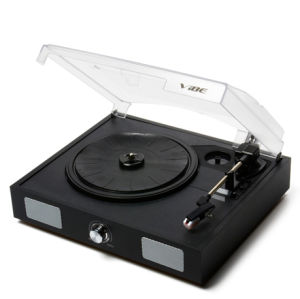 Vibe Sound USB Turntable, Vinyl Archiver Including Built-in Speakers