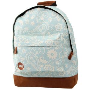 Mi-Pac Vintage Floral Print Backpack - Blue