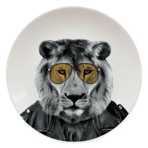 Assiette Lion- Wild Dining