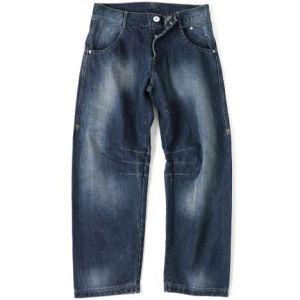 GASP Baggy Denim Jeans - Black