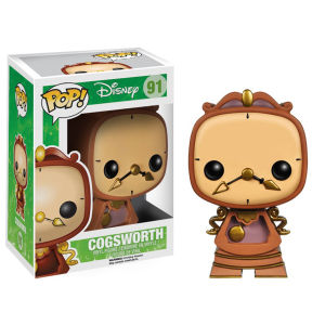Figura Pop! Vinyl Disneys La Bella y La Bestia Cogsworth