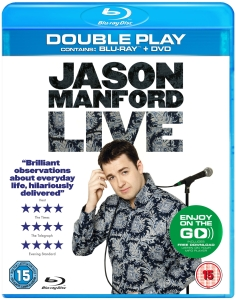 Jason Manford: Live - Double Play (Bevat MP3 Copy)