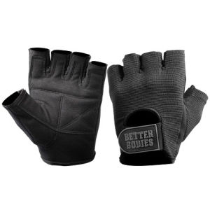 Better Bodies Basic Gym Gloves - Black
