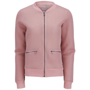 ONLY Women's Sporty Bomber Jacket - Silver Pink