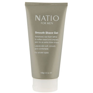 Natio For Men Smooth Shaving Gel -partageeli (150g)