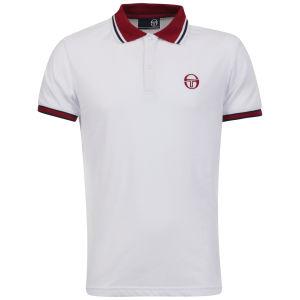 Sergio Tacchini Men's Society Polo-Shirt - White