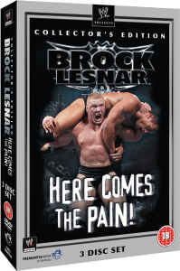 WWE: Brock Lesnar - Here Comes The Pain - Collector's Edition