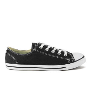 Converse Women's Chuck Taylor All Star Dainty OX Trainers - Black