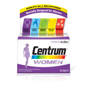Centrum Women Multivitamin Tablets – (30 tabletter)