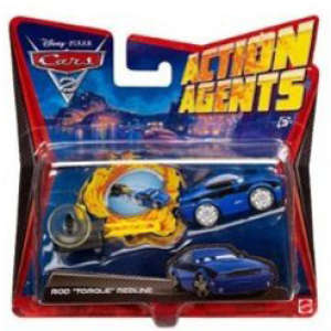 Cars 2 - Action Agents Vehicle and Launcher Torgue Redline