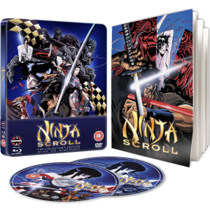 Ninja Scroll - Steelbook Editie (Blu-Ray en DVD)