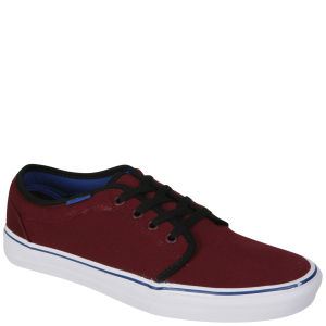 Vans 106 Vulcanized Canvas Two Tone Trainers - Port Royale/Black