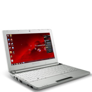 Packard Bell Dot 10.1 Inch SC/Atom Netbook N2600 (1GB RAM 320GB HDD W7S White)