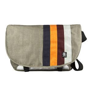 Crumpler Dinky Di Messenger Bag - Dusty Khaki/ Orange