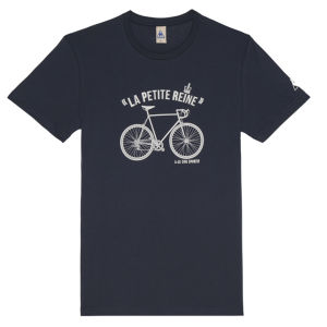Le Coq Sportif Tour de France N9 Short Sleeved T-Shirt - Blue