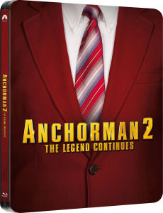Anchorman 2: The Legend Continues - Limited Edition Steelbook