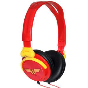 iHip DC Comics Wonder Woman Folding Headphones