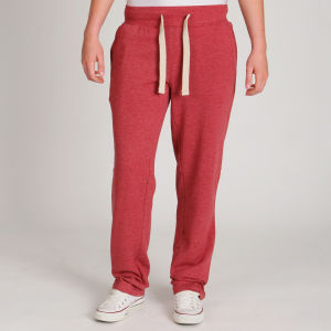 Brave Soul Women's Brits Sweatpant - Oxblood Red