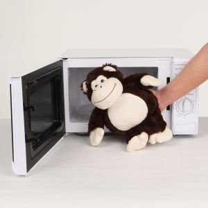 Cozy Heatable Plush Monkey