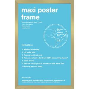 Gold Frame Maxi - Maxi Frame - 61 x 91.5cm