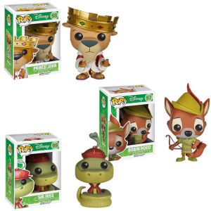 Disney Robin Hood Pop! Vinyl Figure Bundle