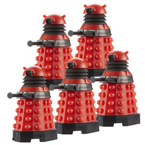 Dr Who Character Building Dalek Army Builder Pack