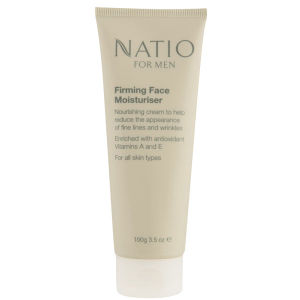 Natio For Men Firming Face Moisturiser -kosteusvoide (100g)