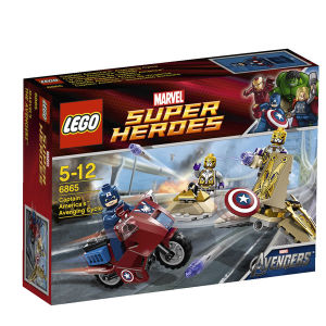 LEGO Super Heroes: Captain America's Avenging Cycle (6865)
