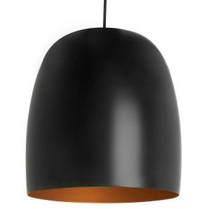 Leitmotiv Pendant Lamp Kalimero - Black and Gold