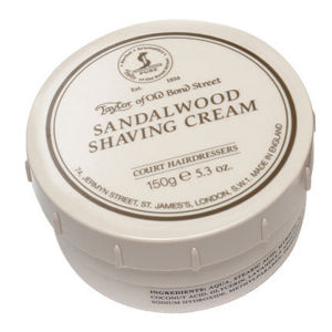 Крем для бритья с ароматом сандала Taylor of Old Bond Street Shaving Cream Sandalwood
