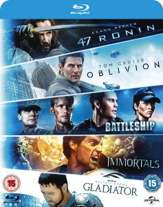Oblivion / Battleship / Immortals / Gladiator / 47 Ronin
