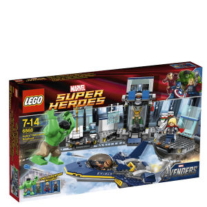 LEGO Super Heroes: Hulk's Helicarrier Breakout (6868)