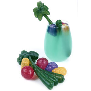 Tropical Drink Stirrers and Coolers