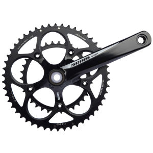 SRAM Apex Black/White Chainset Inc GXP BB