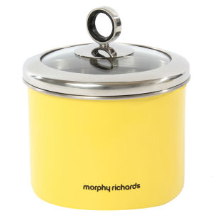 Morphy Richards Accents Small Storage Canister - Yellow