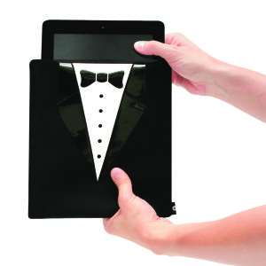 Housse pour Tablette Costume Cravate - Tablet Tux