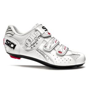 Sidi Genius 5 Fit Carbon Womens Cycling Shoes - White